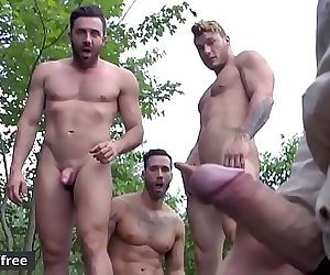 Alexy Tyler and Jessy Bernardo and Mateo Sanchez and William SeedExposure Part 3Jizz OrgyTrailer previewMen.com 90 sec..