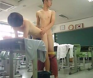 fuck cute korean gay in class