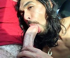 Deepthroat Huge Cock Cum in Car