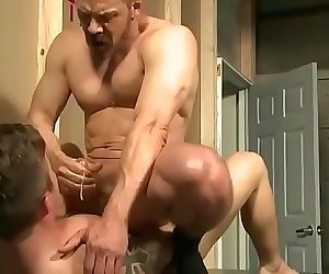 Boy and father bareback 22 min