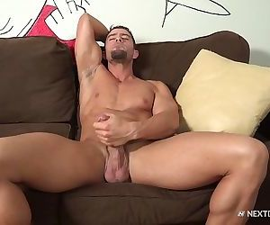 CodyCummings Strokes His Fat Cock