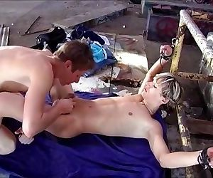 Twinks - Tied, Tickled and Cum