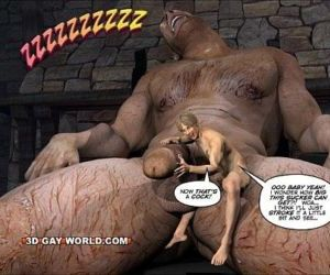JACK AND THE BEANSTALK Gay Comic Version by 3D Gay World